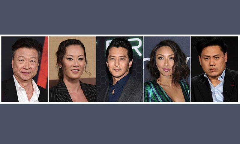 USA. This combination photo shows Asian American actors, from left, Tzi Ma, Olivia Cheng, Will Yun Lee, Jeannie Mai and Jon M. Chu. As people across the world shelter in place due to the breakout of Covid-19, some  people of Asian descent are worried about what happens when they have to leave the safety of their homes, due to the rise in hate crimes due to the growth of the virus, which is believed to have originated in Wuhan, China. (AP)