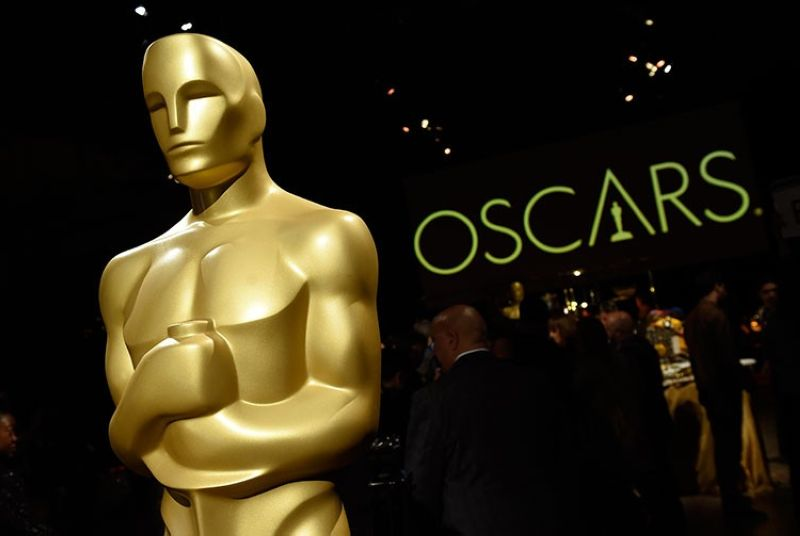 USA. In this Friday, February 15, 2019, file photo, an Oscar statue is pictured at the press preview for the 91st Academy Awards Governors Ball in Los Angeles. (AP)