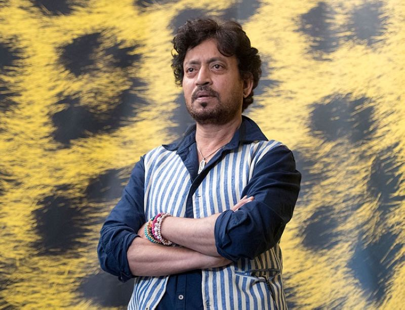 INDIA. This August 9, 2017 file photo shows Indian actor Irrfan Khan posing during the photocall for the film