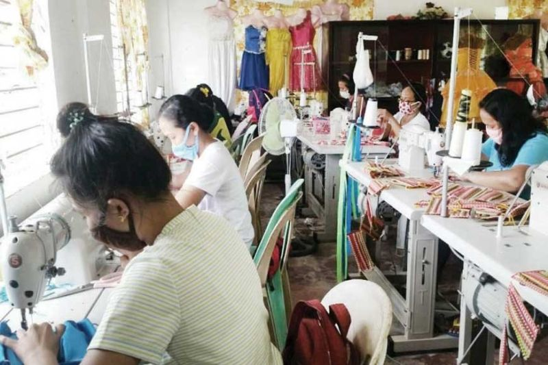 SEVERELY HIT. The country's garment industry is one of those severely hit by the coronavirus outbreak as most of its textile materials were sourced from China, where the Covid-19 disease first started in late 2019. (Photo from DTI's website)