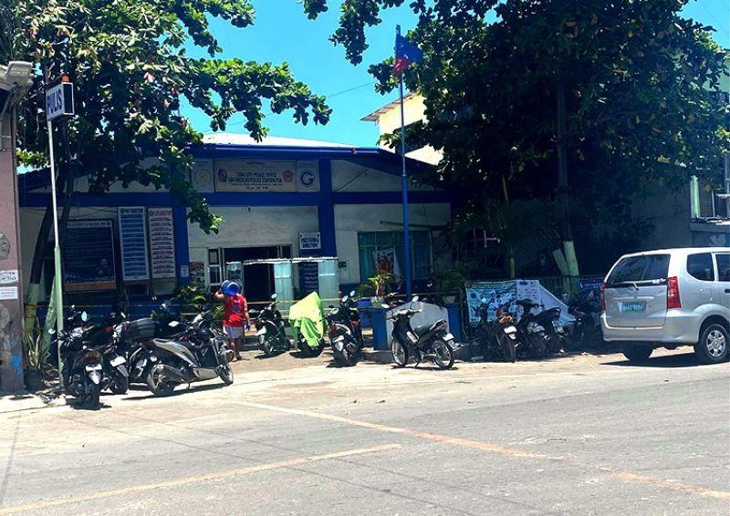 CEBU. Sawang Calero Police Station. (Photo by Benjie B. Talisic)