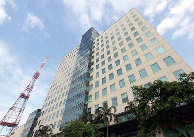 ABS-CBN building in Manila