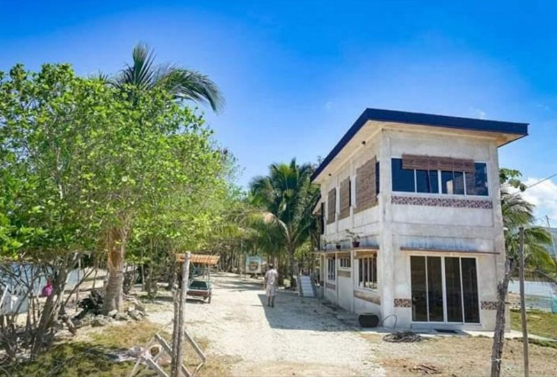 NEGROS. A beach house in Hinoba-an will be utilized by the municipal government as quarantine facility for the returning residents. Contributed photo