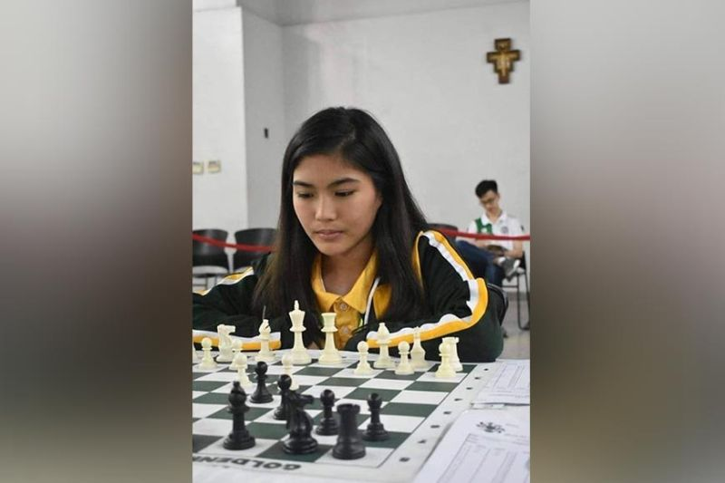 DAVAO. Davao City's Samantha Umayan is unbeaten after five rounds of the ongoing Asian Junior Chess Championships Selection Grand Finals online tournament. (Contributed photo)