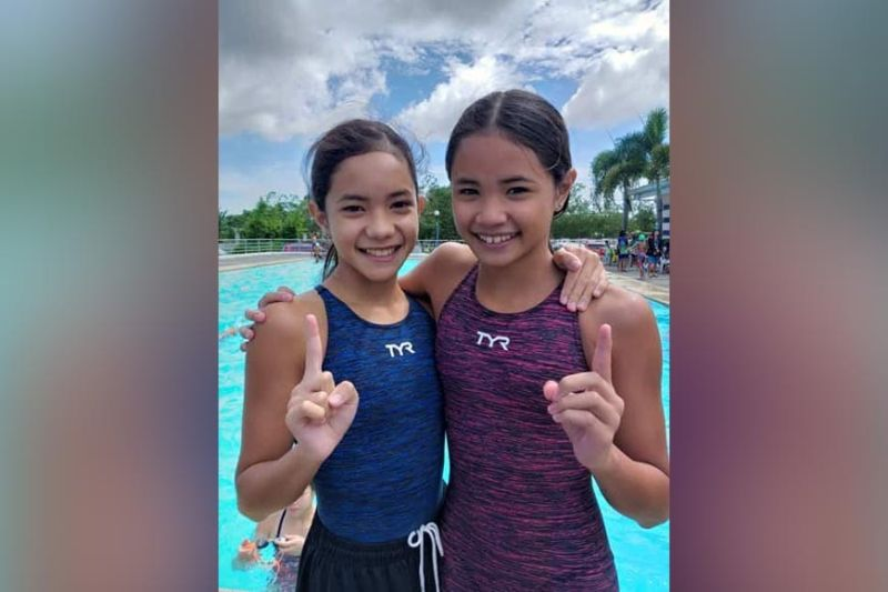DAVAO. Bemedaled swimmers Liaa Margarette and Lorah Micah Amoguis will be missing action in this year's Batang Pinoy Games national finals after the Philippine Sports Commission scrapped it along with the Philippine National Games due to the Covid-19 pandemic. (SunStar Davao File)