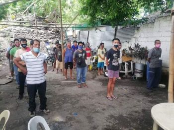 BACOLOD. Authorities arrest 610 residents in Bacolod City for violating the health protocols in the campaign against coronavirus disease (Covid-19) from May 22 to 23. (BCPO photo)