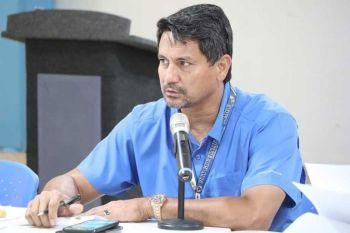 WAY KOORDINASYON: Si Ormoc City Mayor Richard Gomez mipadayag sa iyang kasagmuyo sa mga ahensya sa nasudnong kagamhanan nga way koordinasyon tali sa local government unit (LGU) sa pagpanguli sa overseas Filipino workers (OFW). (John Kevin D. Pilapil)