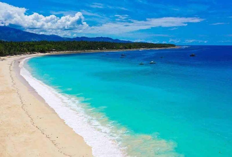DAVAO. Dahican Beach in Mati, Davao Oriental. (Photo by Marivic Lopez Sencio/Mati Tourism Office)