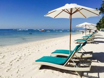 BOHOL. A white-sand beach in Panglao, Bohol. (Contributed photo)