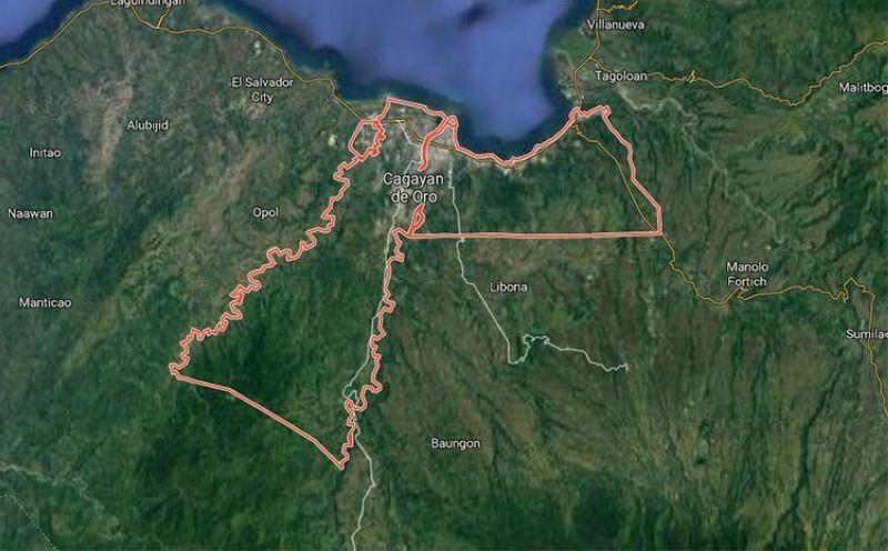 Cagayan de Oro map. (Google Maps)