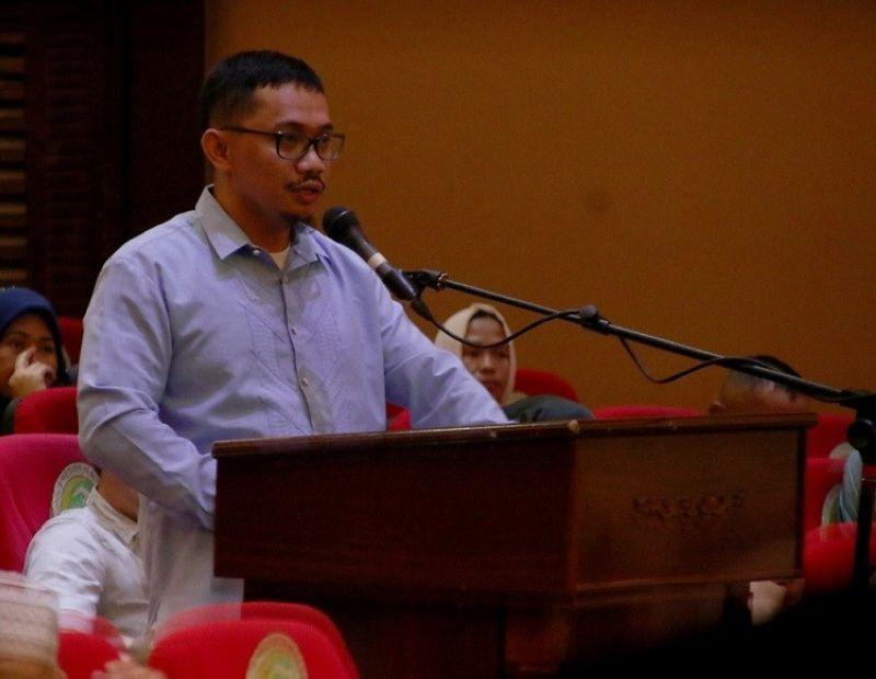 Bangsamoro Transition Authority majority floor leader Lawyer Lanang Ali, Jr. (Photo courtesy of bangsamoro.gov.ph)