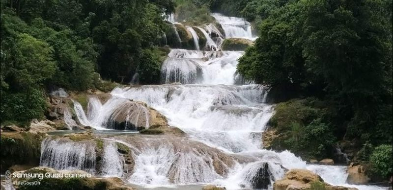 DAVAO. Aliwagwag Falls in Cateel, Davao Oriental taken by local resident Sakina Chavoso. (Photo from DOT Davao Facebook page)
