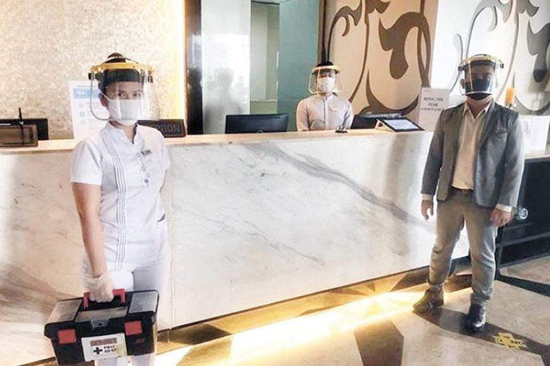 AT YOUR SERVICE. Hoteliers in Cebu have invested in digital technologies to make some services contactless and cashless. They also invested in upskilling their staff under the new normal tourism landscape. (SunStar file)