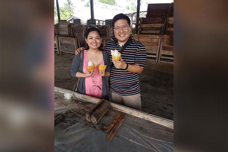DAVAO. Cacao Culture founders Kenneth and Shiela Reyes-Lao. Kenneth is focused on the business development and operations of Cacao Culture Farms. Shiela is in-charge of product development for chocolate and cacao cosmetic products as well as the company's online presence. (Photo from Kenneth Reyes-Lao)
