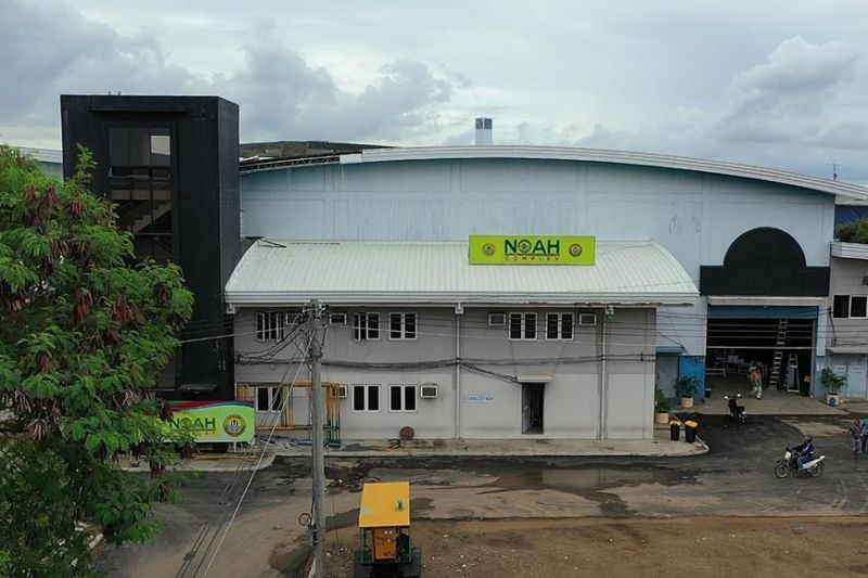 NEW FACILITY. The Cebu City Government unveils NOAH Complex at the South Road Properties as its fourth quarantine center on May 28, 2020. The facility can house 9,000 asymptomatic patients of the coronavirus disease 2019 and it is where the City plans to transfer the patients from Barangay Isolation Centers. (Allan Cuizon)