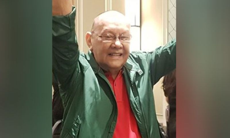 "MANILA. Nationalist People's Coalition (NPC) founder Eduardo ""Danding"" Cojuangco Jr. (Photo from Bacolod Mayor Evelio Leonardia's Facebook account)"