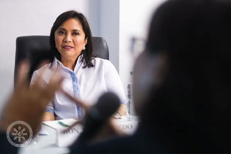 MANILA. Vice President Maria Leonor