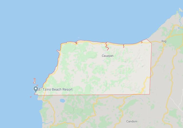 Cauayan, Negros Occidental map. (Google Maps)