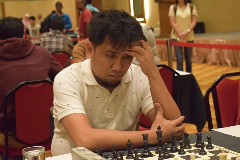 DAVAO. Davao City's international master (IM) Oliver Dimakiling will lead the Davao All Stars team that will clash against the best of Misamis Oriental and Cagayan De Oro City in a dual goodwill online tournament set on June 26 and 27 over lichess.org. (Gilbert Castro Pascua's Facebook account)