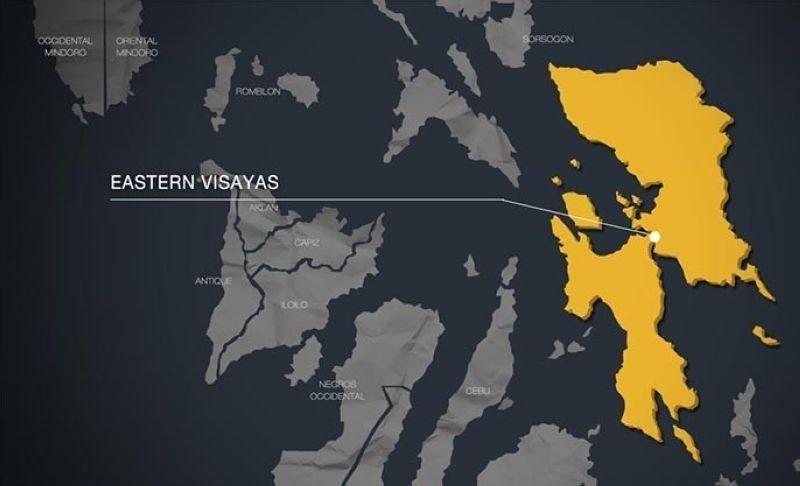 Eastern Visayas map. (SunStar photo)