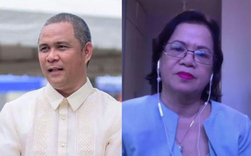 CEBU. Cebu City Administrator Atty. Floro Casas Jr. and Supreme Court Chief Justice Priscilla Baltazar Padilla. (SunStar File/Screenshot from SC YouTube video)