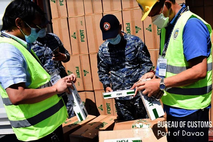 Hulagway iya sa Bureau of Customs-Davao