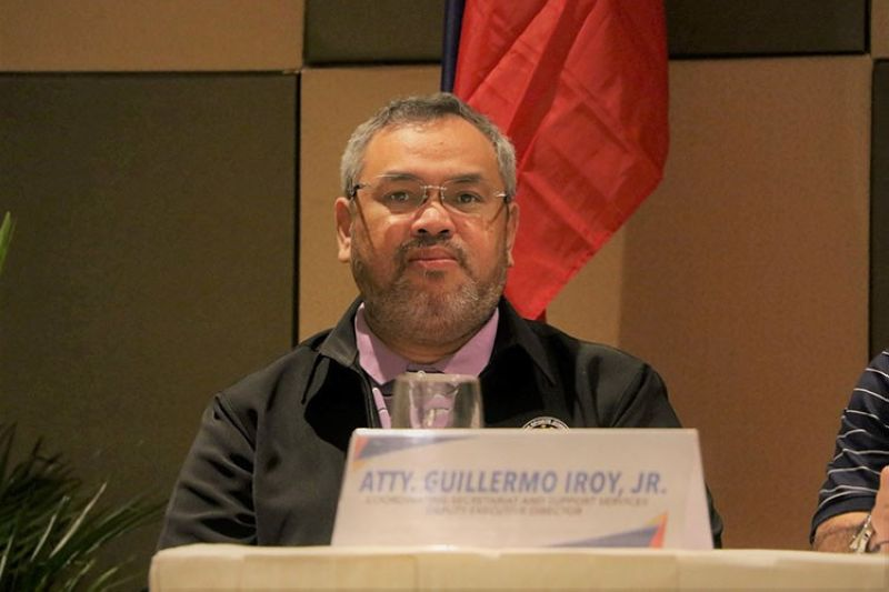 DAVAO. The Philippine Sports Commission Board appoints Davao City lawyer Guillermo Iroy Jr. as new acting executive director. (PSC photo)