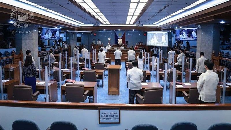 MANILA. The Senate opens the 2nd regular session of the 18th Congress on July 27, 2020. (Photo from Senate)