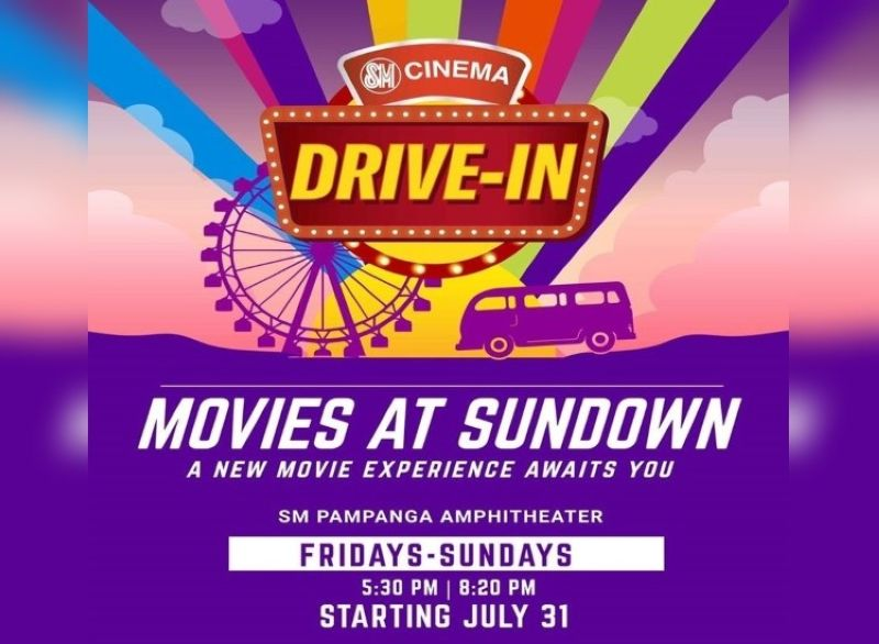 SM City Pampanga opens cinema drive-In on July 31 - SUNSTAR