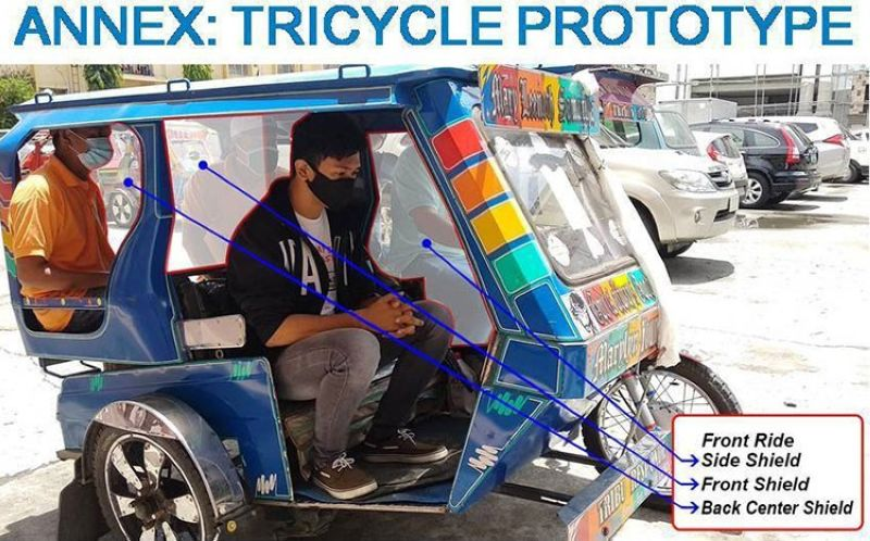 AKLAN. The tricycle design introduced by Kalibo officials for the