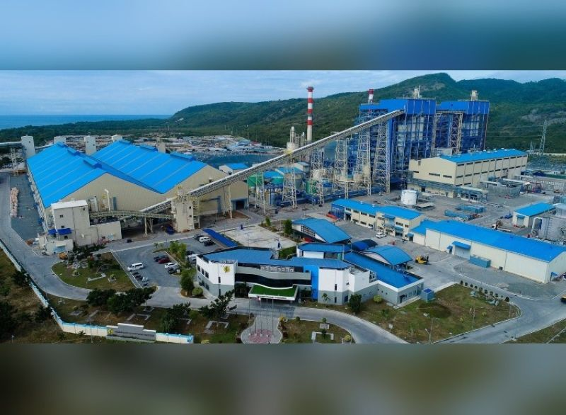 Sarangani Energy Corporation (SEC), the 210-megawatt (MW) baseload coal-fired power plant of the Alsons Consolidated Resources, Inc. (ACR) located in Maasim, Sarangani. (Photo from ACR)