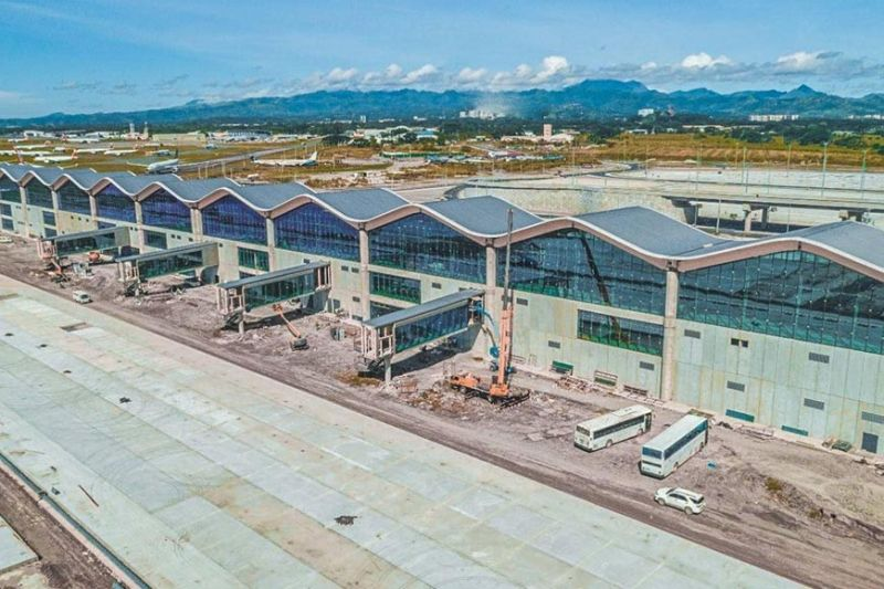 The new passenger terminal of Clark International Airport which can accommodate 12.2 million passengers annually. (Contributed photo)