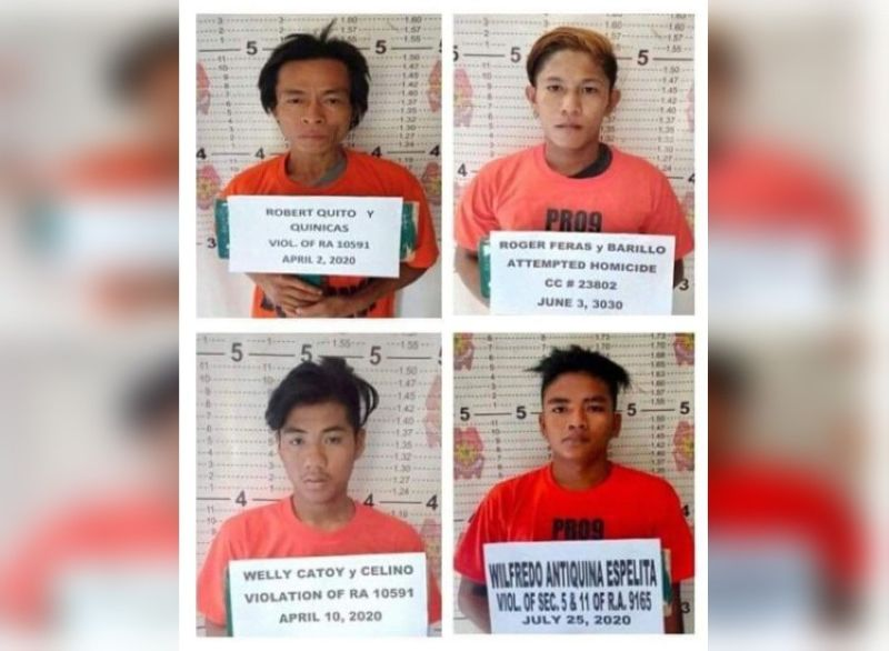 ZAMBOANGA. Four Persons Deprived of Liberty (PDL) escape early Thursday, August 20, from the detention cell of the Roxas Municipal Police Station in Zamboanga del Norte. The police released the mug shot photographs of the four escapees and urge the public to report to the nearest police station once seen in their community. (SunStar Zamboanga)