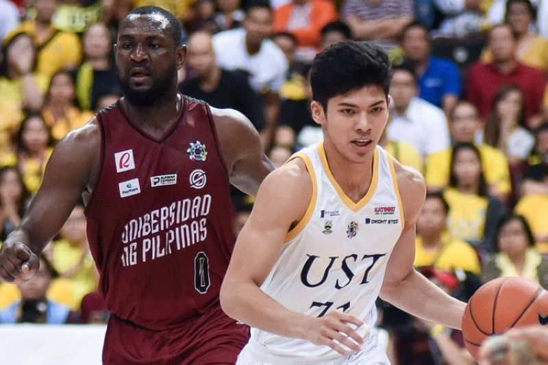 Once considered to be one of UST's cornerstones of the future, reports have expressed that CJ Cansino and the Growling Tigers have went their separate ways.  (The UAAP photo)