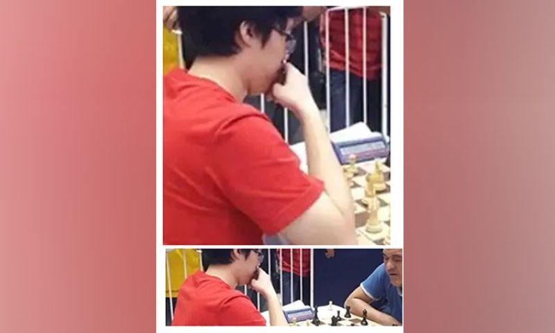 CAGAYAN DE ORO. Former UAAP sensation IM Jan Emmanuel Garcia does wonder in online chess challenge against top grandmaster rivals. (Lynde Salgados)