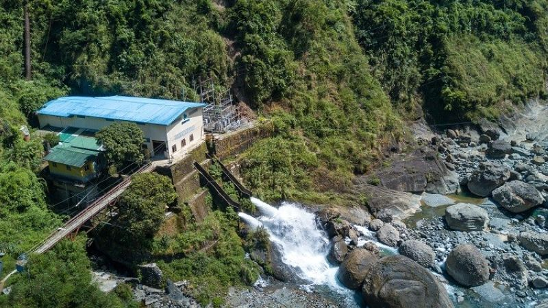 ABOITIZPOWER SUBSIDIARY. Hedcor's FLS Hydro in Benguet province is among AboitizPower's generation subsidiaries that help communities grow through financial benefits under the Department of Energy's ER 1-94 program. (Contributed photo)