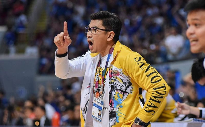 MANILA. After catching flak for allegedly hosting a training camp for the UST Growling Tigers men's basketball team in his hometown of Sorsogon, head coach Aldin Ayo has resigned from his post. (The UAAP)