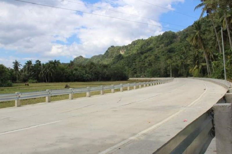 ROAD PROJECTS. One of the road improvement projects of the Department of Public Works and Highways seen to boost tourism in Negros Occidental. (Contributed Photo)