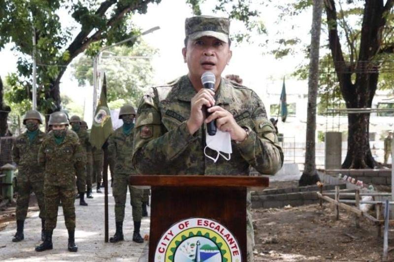 NEGROS. Colonel Inocencio Pasaporte, 303rd Brigade commander of the Philippine Army. (Contributed photo)
