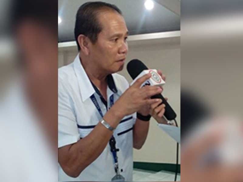 BACOLOD. The late Jose Dante Albao during an interview for the WVPrisaa hosted by Nopsscea. (Jerome Galunan Jr.)