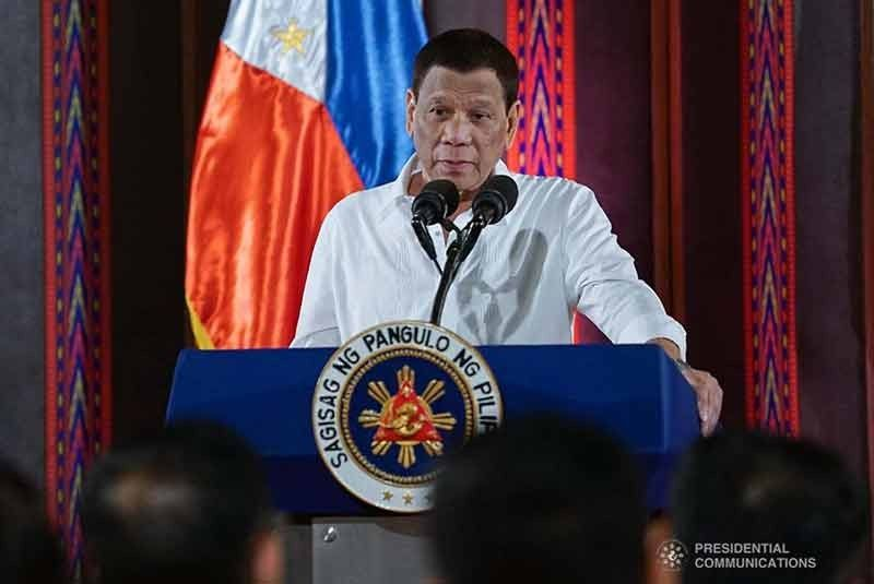 DAVAO. Former Davao City mayor now President Rodrigo Duterte. (Presidential Photo)