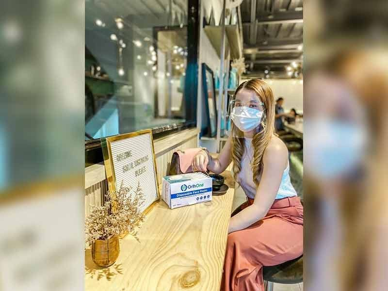 PROUDLY DAVAO-MADE.OrthOne masks are all-white medical-grade masks with 99% filtration efficiency. The masks are FDA-Philippines-approved and manufactured in Davao City. (Contributed photo)