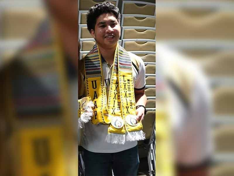 TOP SCORER.Fide master Austin Jacob Literatus leads Team Davao's win over Caraga in the recently-concluded first goodwill online chess tournament held via lichess.org. (Contributed photo)