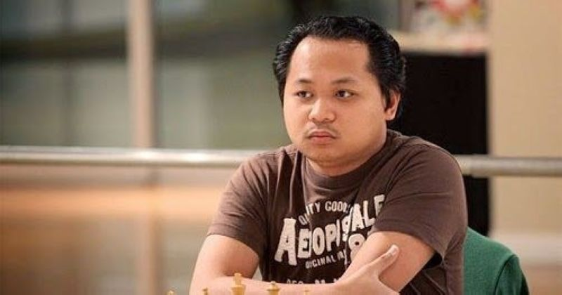 CHAMPION. Filipino grand master (GM) Mark Paragua rules the King Nathaniel Aguilar Retanal Birthday Chess Bullet Online Tournament via lichess.org recently. (NCFP Facebook pre-pandemic file photo)