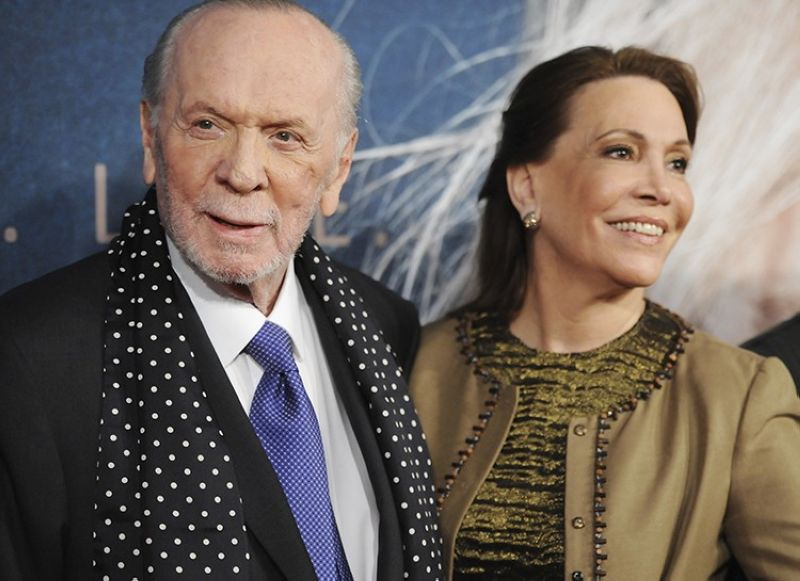 In this Monday, Dec, 10, 2012 file photo, lyricist Herbert Kretzmer and his wife Sybil Sever attend the premiere for