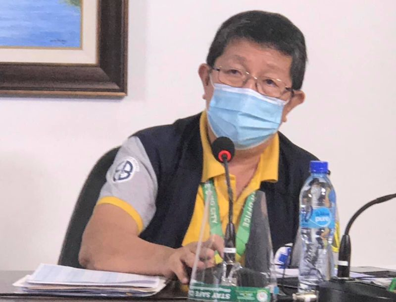 CAGAYAN DE ORO. Cagayan de Oro City Health Office Epidemiologist Dr. Joselito Retuya said Thursday, October 15, that local cases will not disappear even with the imposition of lockdown in the city. (Photo by City Information Office)