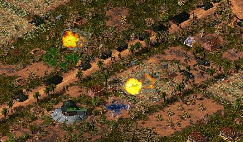 Screenshot from The 'Nam: Vietnam Combat Operations, a Filipino-made game launched last month. (VCO)