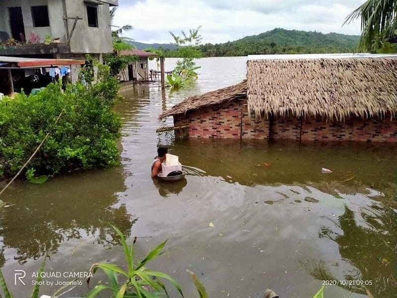 QUEZON. Aftermath of Tropical Storm Pepito in Quezon province in Calabarzon. (Contributed)
