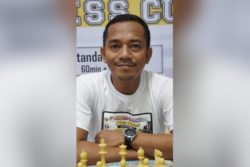 DAVAO'S TOP PERFORMER. Davao Chess Eagles' Harison Maamo bags two runner-up finishes at the close of the 1st Mindanao Regional Chess Team Championship online tournament recently. (Photo courtesy of Carmelo Y. Uy)
