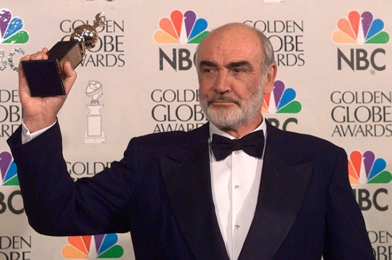 USA. In this file photo dated Sunday, January 21, 1996, Sean Connery is honored at the Golden Globe Awards, in Beverly Hills, California, USA, when he received the Cecil B. DeMille Award. Connery, considered by many to have been the best James Bond, has died aged 90. (AP)